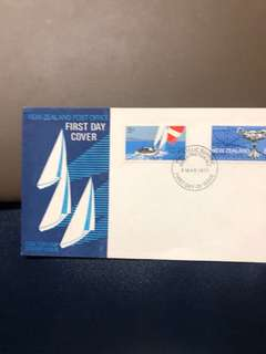 Clearing Stocks: New Zealand 1971 One Ton Cup First Day Cover
