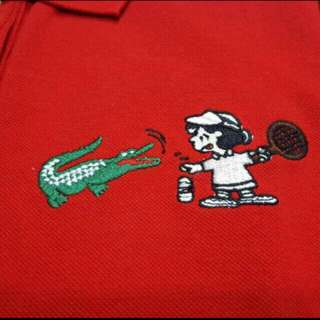 Lacoste snoopy