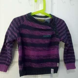 Baker by ted baker girl sweater