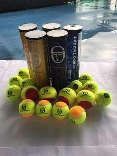 Red & Orange Ball for kids Tennis