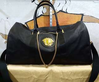 Authentic Versace traveler Bag