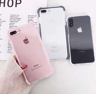 Soft Rubber Clear Case