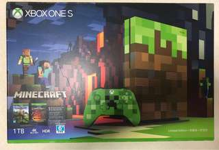 Xbox One S Minecraft 1 TB - Brand New sealed Box