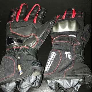 Komine GK-812 CE WP-Tourer W-Gloves-HAYUMA