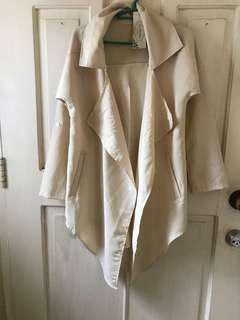 Korean long back blazer