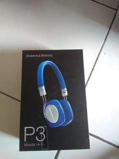Jual cepat Headphone bowers &wilkins P3 original