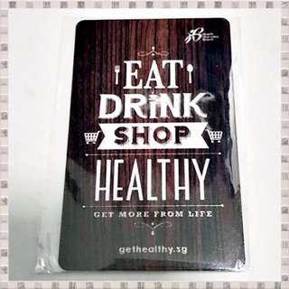 "HPB Health Promotion Board ""Eat Drink Shop Healthy"" Nets FlashPay Card 2016 (Deactivated) + FREE Post"