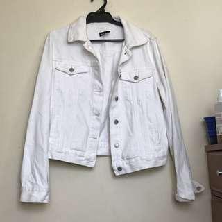 Glassons White Denim Jacket