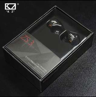 KZ ZS3 Wired Earpiece