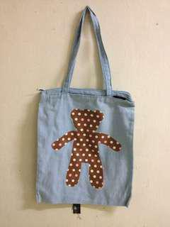 Totebag Jeans Denim