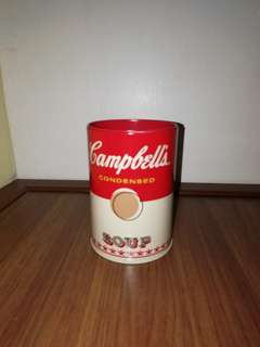 Campbell's Soup Coin Bank