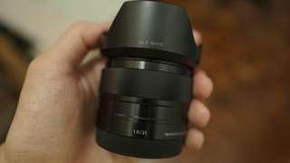 Sony 35mm f1.8 Lens