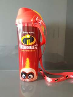 Incredibles 2 water bottle