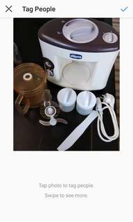 For sale preloved food processor chicco
