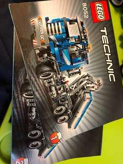 己砌新淨無䴤 Lego Technic 8052 truck 42043 42030 42009 8043
