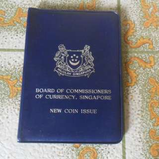 1968 Singapore Uncirculated Coin Set