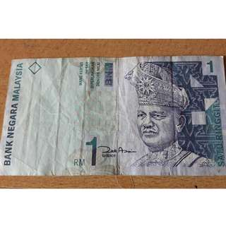 Malaysian RM1 Old Notes