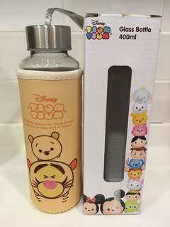 Tsum Tsum Glass Bottle 400ml