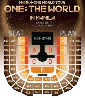 TRADE: WANNA ONE ONE THE WORLD TOUR IN MANILA TICKET