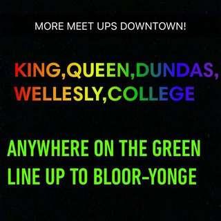 DOWNTOWN MEET UPS