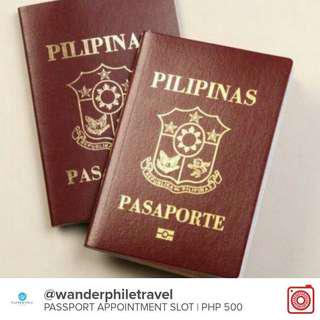 PASSPORT APPOINTMENT-PAYMENT FIRST, BEFORE SLOT