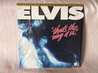 Elvis That's the way it is Laserdisc Rare!