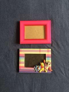 2pcs Picture Frames
