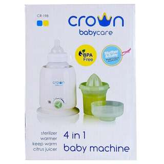 Crown 4In1 Baby Machine