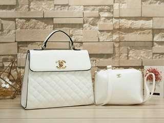 Handbag Chanel # 8192 : SET 2 IN 1