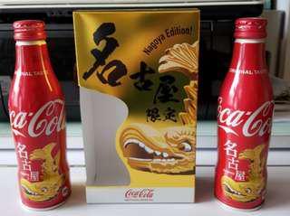 """日本名古屋限定可口可樂 """"Nagoya Edition"""",一套兩枝(現貨)。"""