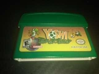 Yoshi topsy turvy gba