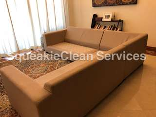 Sofa Upholstery Steam Clean and Shampoo DeepCleanse Service