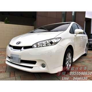 《2012 Toyota Wish 2.0 E》
