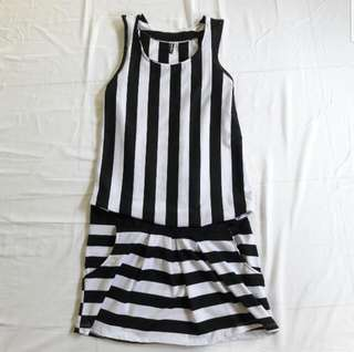 DRESS SALUR BW