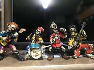 經典收藏 Skullman Band Figure