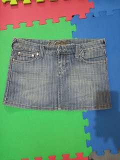 MOSSIMO Maong Mini Skirt