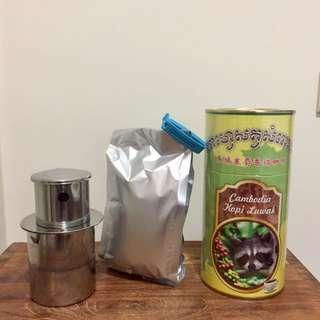 🆕麝香貓咖啡粉 柬埔寨帶回