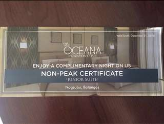 Canyon Cove Gift Cert
