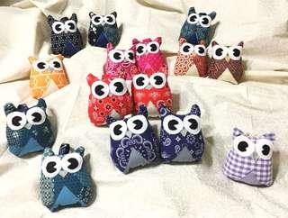 Owl handmade plush