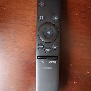New Samsung Sound Bar Remote Control