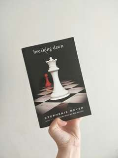 Preloved but VERY NEW, breaking dawn book
