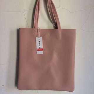 Miniso Totebag / Shoulder bag Pink
