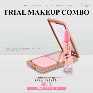 Nurraysa Trial Makeup Set