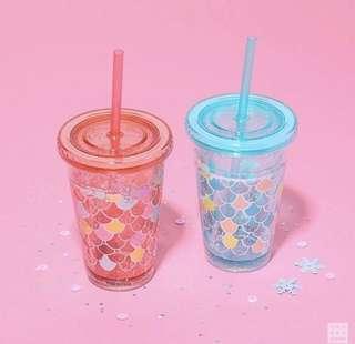 Daiso 美人魚系 杯