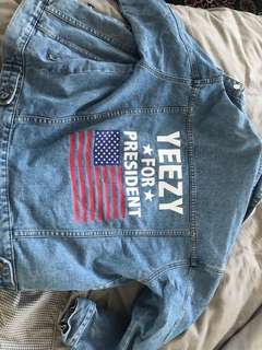 Denim jacket (yeezy for President)