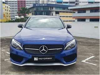 MERCEDES BENZ AMG C43 4MATIC SEDAN (R18 LED SR)