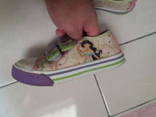 Disney Jasmine Girls Shoes for ages 4 - 6