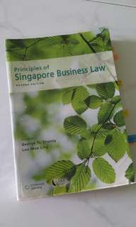 Principles of Singapore Business Law 2nd Edition