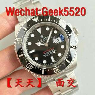 Rolex sea-dweller 126600 43mm 單紅904L鋼_AR廠