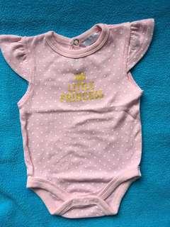 Pink newborn onesies